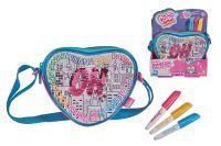 Color me mine CMM Swap Heart Bag