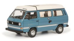 Schuco VW T3a Joker,mediumblau 1:18