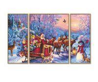 Malen nach Zahlen MNZ - Der Weihnachtsmann kommt! (Tripty)