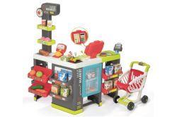 Smoby Maxi Supermarkt + Einkaufswagen