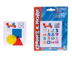 Game & More G&M Schiebepuzzle, 2-sort.