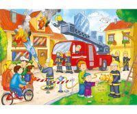 Noris XXL Puzzle Feuerwehr im Einsatz