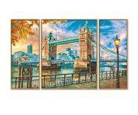 Malen nach Zahlen MNZ - The Tower Bridge in London