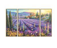 Noris MNZ - Lavendelfelder (Triptychon)