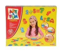 Art & Fun A&F Knetset ABC und Zahlen