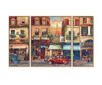 Noris MNZ - Paris Nostalgie (Triptychon)