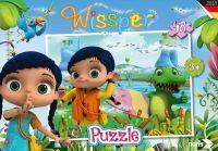 Noris Spiele, Puzzle, Wissper, 48 Teile (606031590)