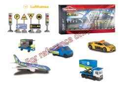 Majorette Big Airport Lufthansa Theme Set