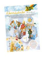 Folia, Adventskalender mit 24 Papiertüten, 24 Papiertüten (WINTERDORF)