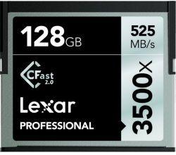 Lexar CFAST 2.0 PROF. 3500X 128GB