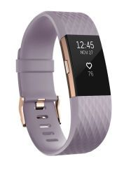 fitbit Charge 2, Lavender Rose Gold Large