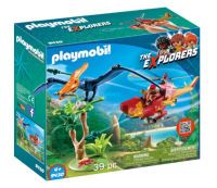 Playmobil The Explorers 9430 Helikopter mit Flugsaurier