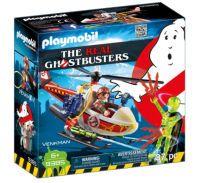 Playmobil, Venkman Mit Helikopter 9385