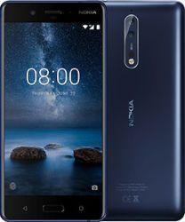 Nokia 8 Single SIM blue