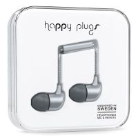 Happy Plugs In-Ear Deluxe Edition Space Grey