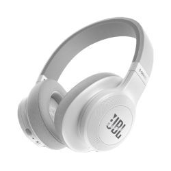 JBL E55BT, Over-Ear Bluetooth Kopfhörer, weiß
