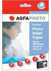 AgfaPhoto Premium Photo Glossy Paper 240 g 10x15 cm 100 Blatt
