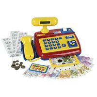 Theo Klein Electronic cash register with scanner