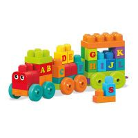 Mega Bloks MegaBloks ABC Lernzug, Konstruktionsspielzeug (DXH35)