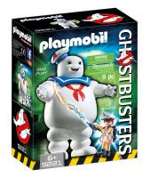 Playmobil, Stay Puft Marshmallow Man mit Geisterjäger Ray Sta, Ghostbusters™, 16x19x8,5 cm, 9 Teile, 9221