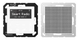 Smart Radio - Set Mono, alpinweiß, A creation, Jung