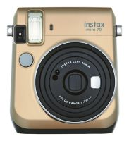 Fuji Instax mini 70 Stardust Gold Instant Camera