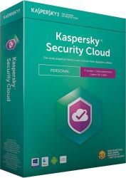KASPERSKY LAB KASPERSKY Security Cloud Personal Edition 5 Geraete Sierra Box (DE) (KL1923G5EFS-9)