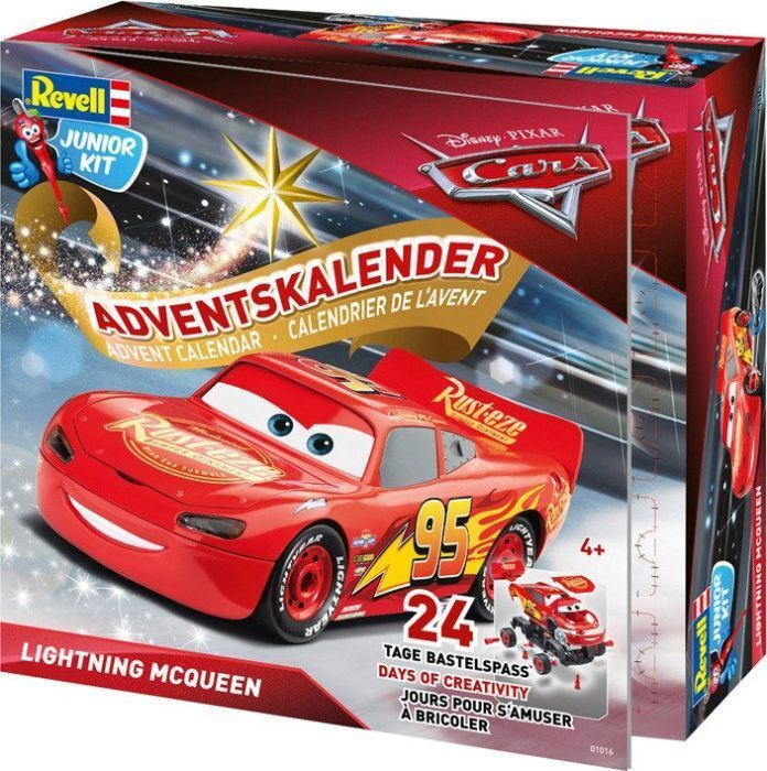 Adventskalender Lightning McQueen, Spielfahrzeug