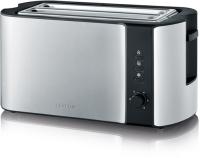 Severin Toaster AT2590 edelstahl-gebürstet/schwarz - 259000
