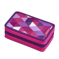 Herlitz Triple Etui 31 tlg.      Pink Cubes (50021062)
