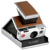 Polaroid originals Refurbished SX70 camera - silver brown (659004695)