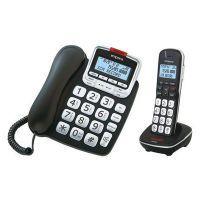 emporia GD61ABB Großtasten Komforttelefon mit DECT Schnurlostelefon