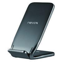 nevox Wireless Fast Charger Stand - induktive Ladestation 10 Watt schwarz