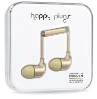 Happy Plugs In-Ear Deluxe Edition Matte Gold