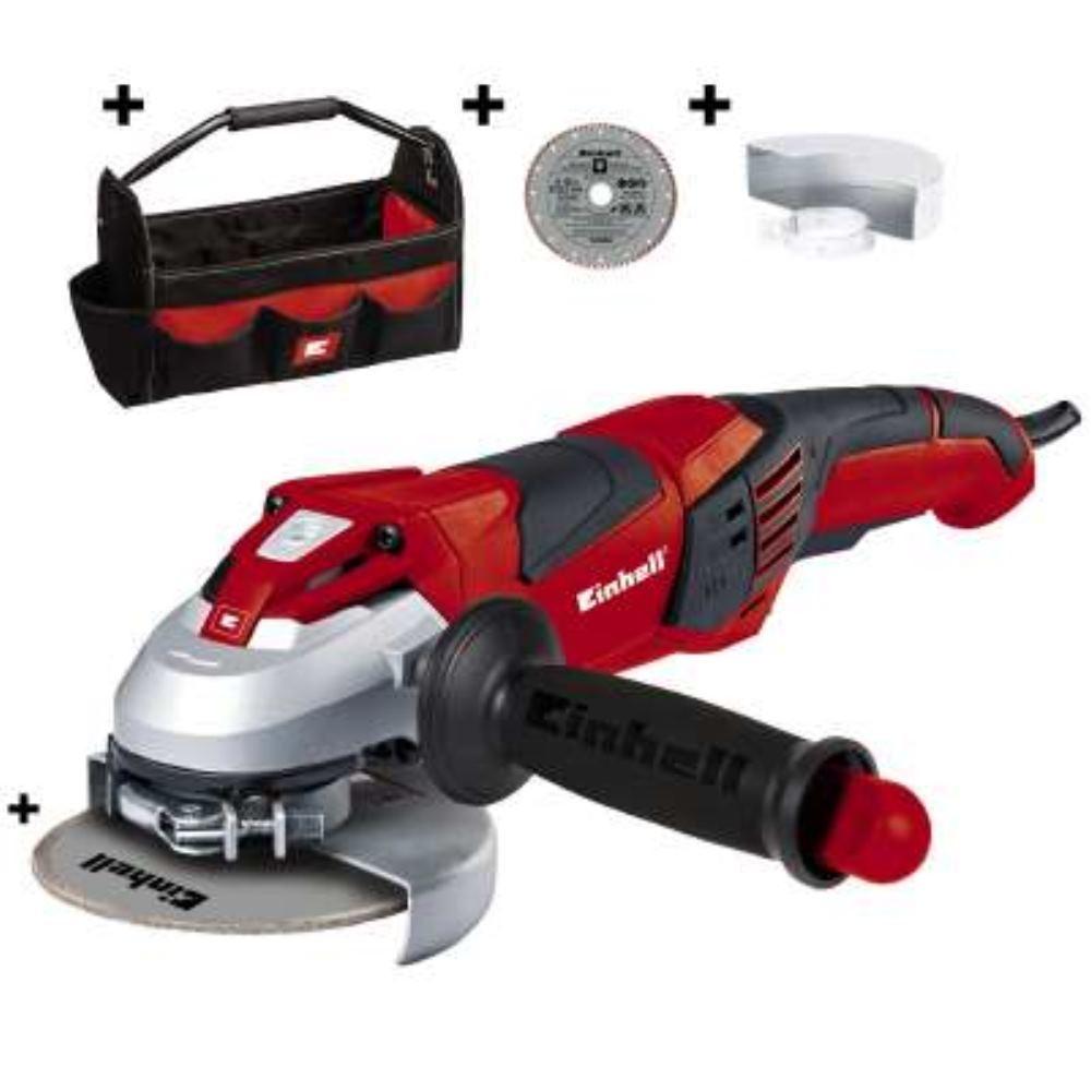 Einhell 4430865 Winkelschleifer-Set TE-AG 125 CE Kit