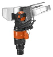 Gardena Premium Impuls-, Kreis- und Sektorenregnerkopf (Metall/Kunststoff) (8137-20)