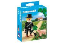 Playmobil, Schornsteinfeger Mit Schweinchen 9296