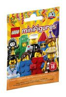 Lego, Minifiguren Party Serie 18 71021, 0,2x12x9 cm