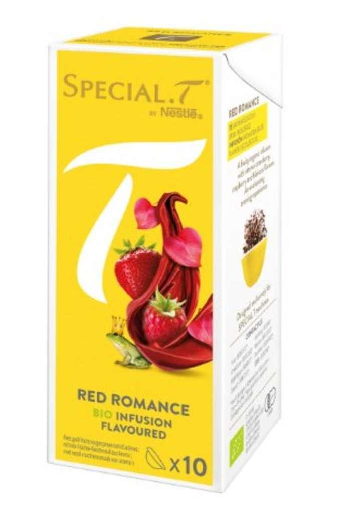 Nestlé Special.T Red Romance Teekapseln 10 Stück