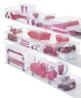 ROTHO Clearbox Blanket ohne Rollen 30 l CLEAR (1404700096)