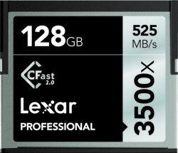 Lexar CFast 2.0 - 128GB Speicherkarte Kompaktflash