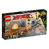 LEGO®, Turbo Qualle 70610, NINJAGO, 35,1x18,8x5,7 cm, 322 Teile, 70610
