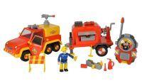 Sam Special Set Fachhandel II - Feuerwehrmann Sam Venus Anhänger Walkie Talkie
