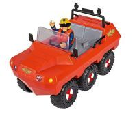 Simba Feuerwehrmann Sam Hydrus Fahrzeug Amphibien mit 1 Figur