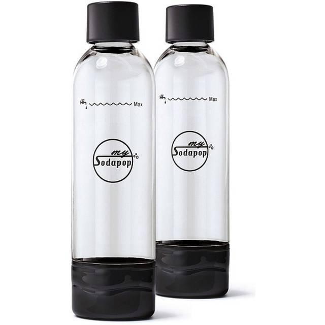 mySodapop PET-Flasche A252225 Schwarz, Klar