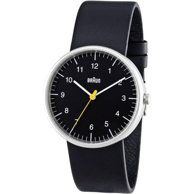 Braun Quarz Leder Armbanduhr BN0021BKBKG