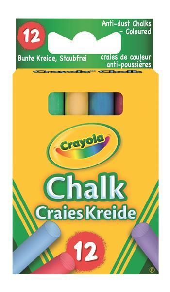CRAYOLA-KLASSIK KREIDE BUNT 12 STK.