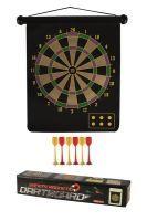 Magnetisches Dartboard Dartspiel inkl. 6 Pfeilen beidseitig