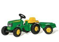 Rolly Toys TRAKTOR M. ANHÄNGER JOHN DEERE 012190