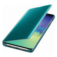 Samsung Clear View Cover SM-G975F / Galaxy S10+, green